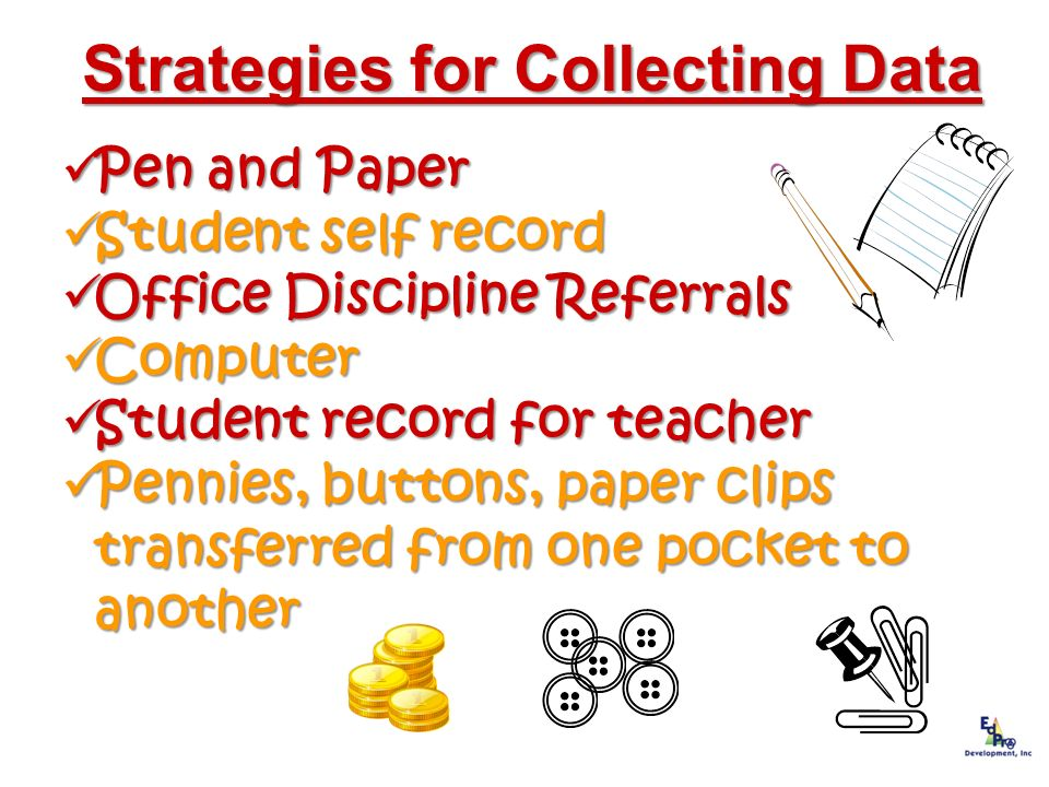 Strategies for Collecting Data