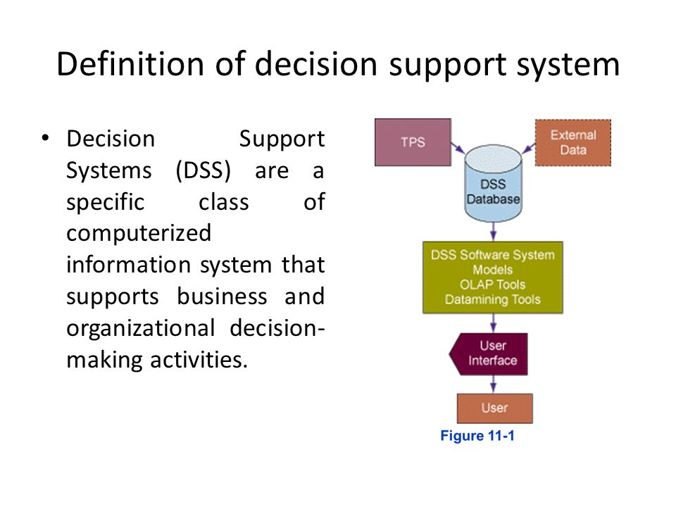 Decision support systems essay