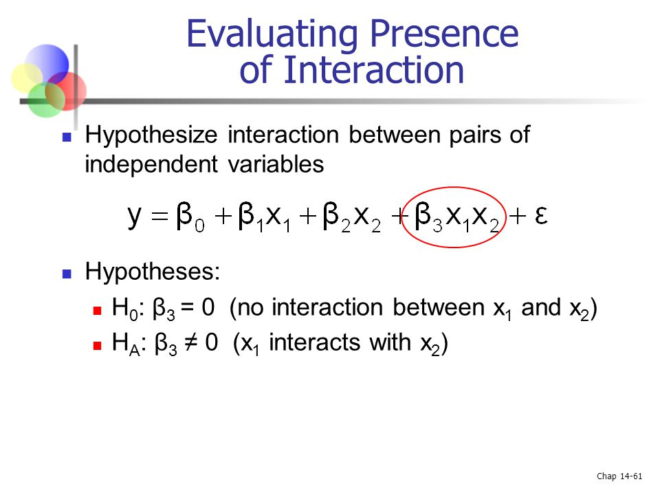 Evaluating Presence of Interaction