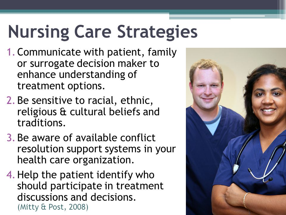 Nursing Care Strategies