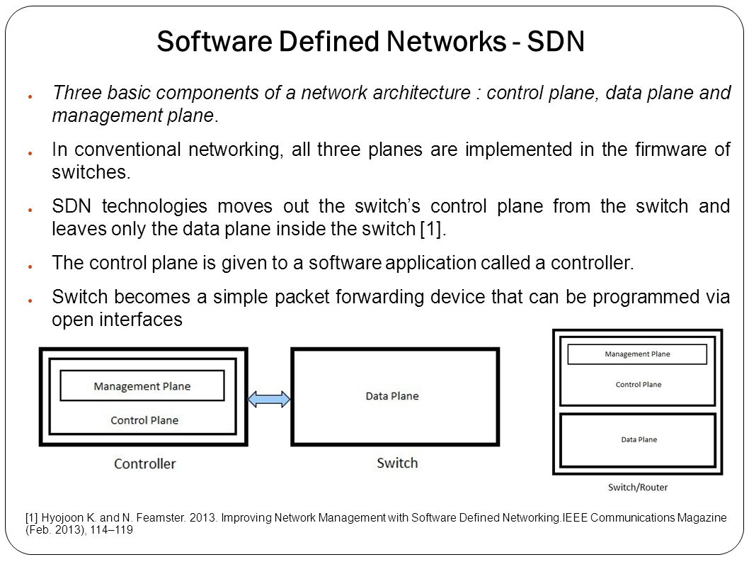 Software Defined Networks - SDN