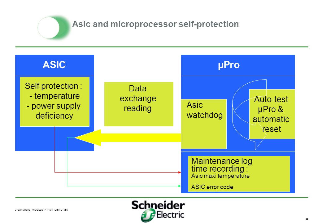 Asic and microprocessor self-protection