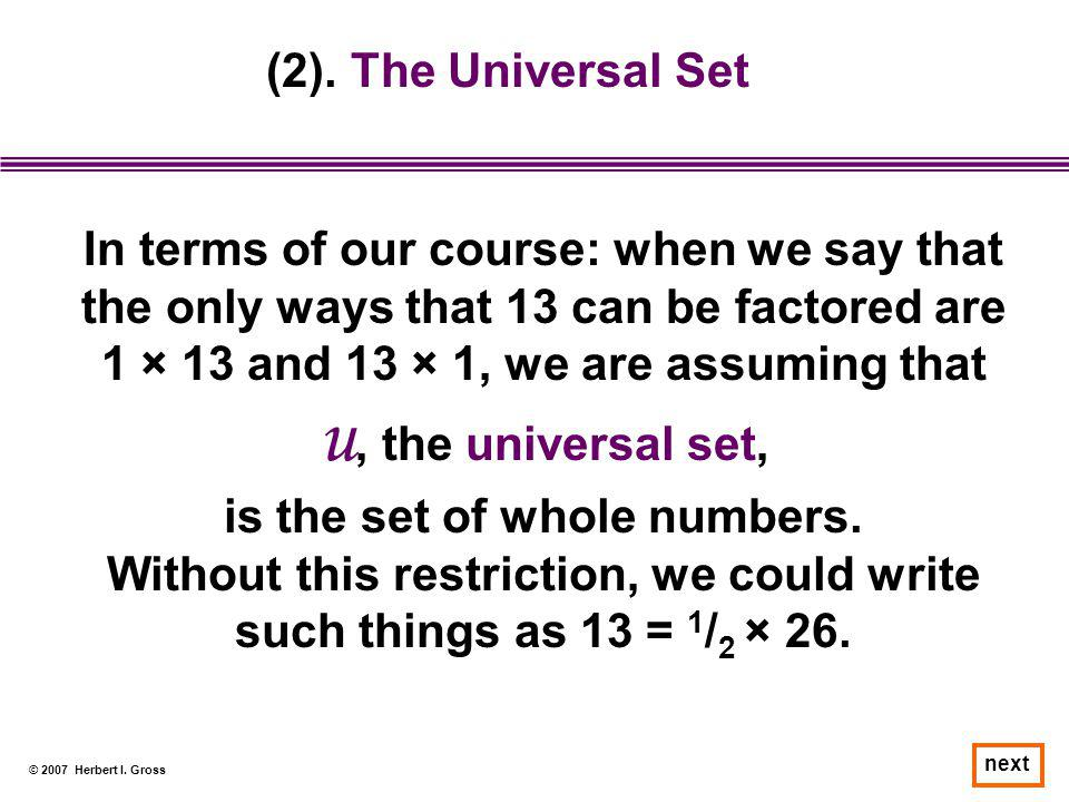 is the set of whole numbers.