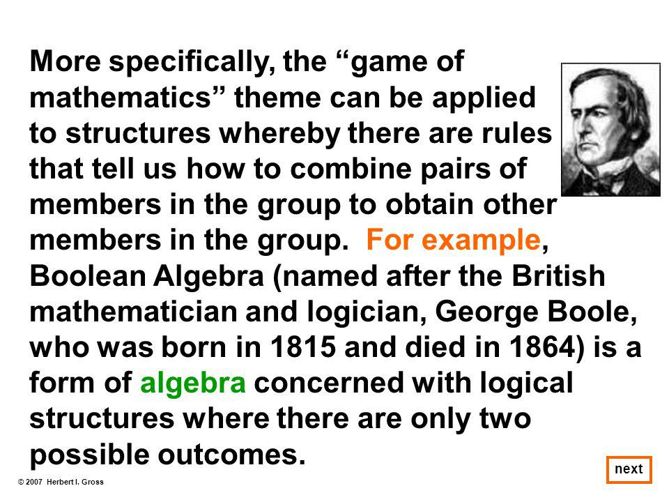 More specifically, the game of mathematics theme can be applied