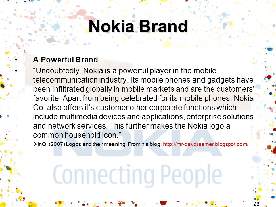 Nokia Brand A Powerful Brand