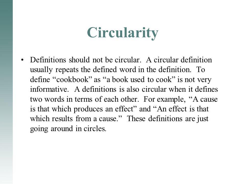 Circularity