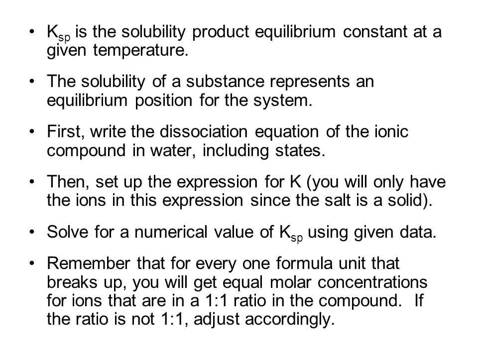solubility product and ionic product pdf