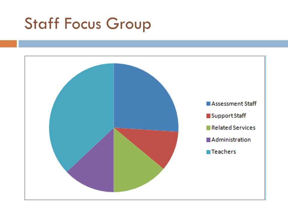 Staff Focus Group
