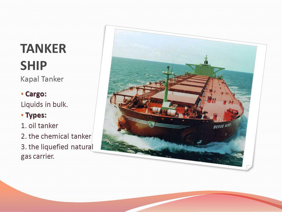 TANKER SHIP Kapal Tanker