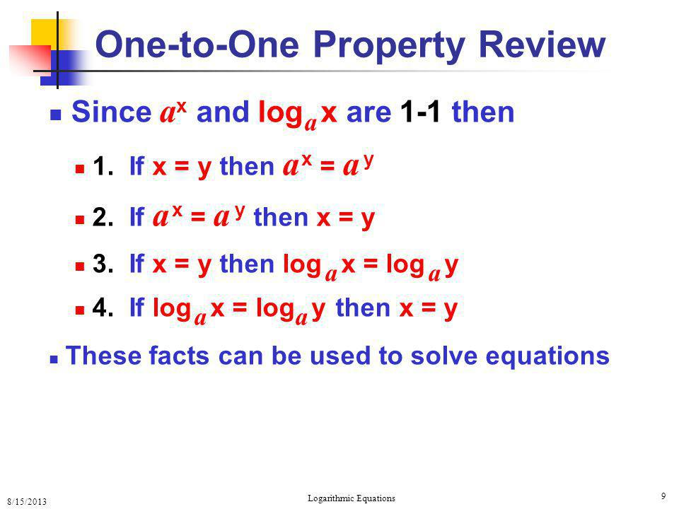 One-to-One Property Review
