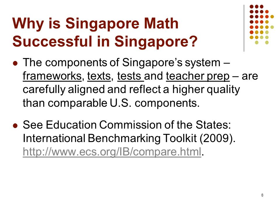 Why is Singapore Math Successful in Singapore