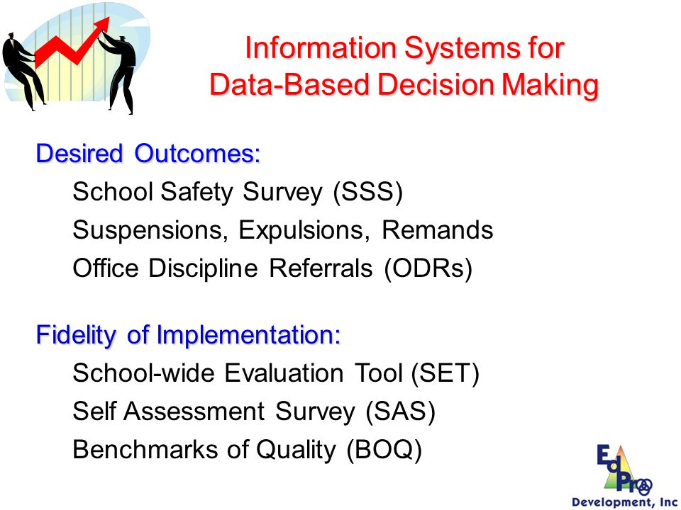 Information Systems for Data-Based Decision Making