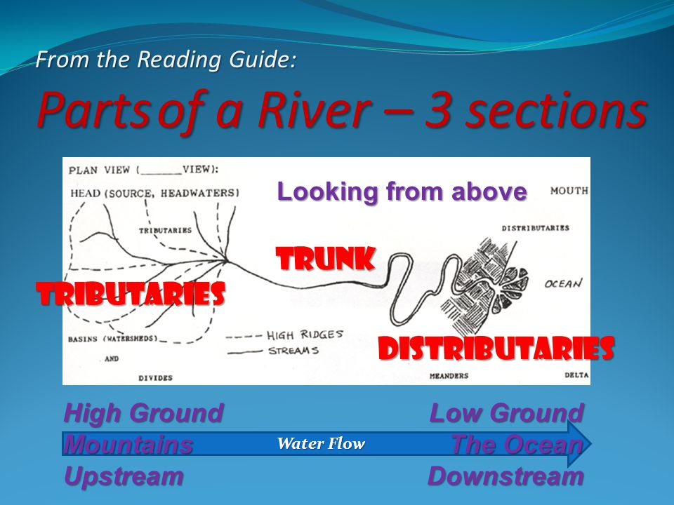 Parts of a River – 3 sections