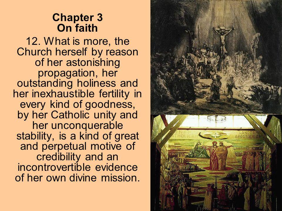 Chapter 3 On faith