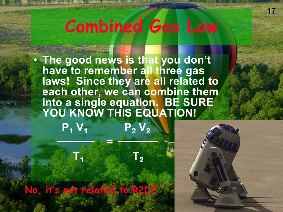No, it's not related to R2D2