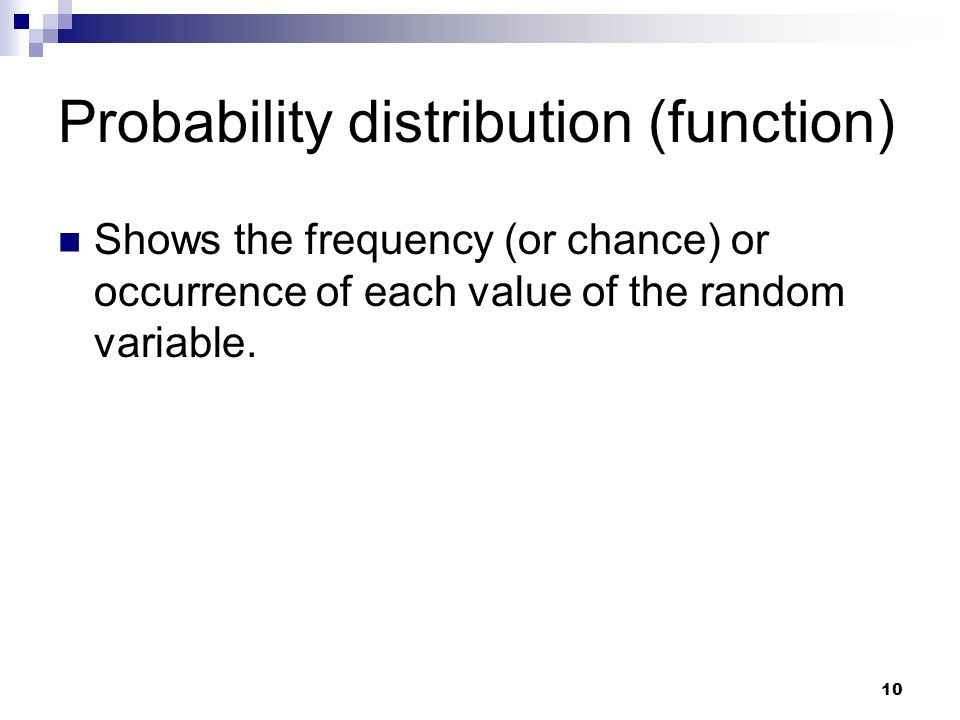 Probability distribution (function)
