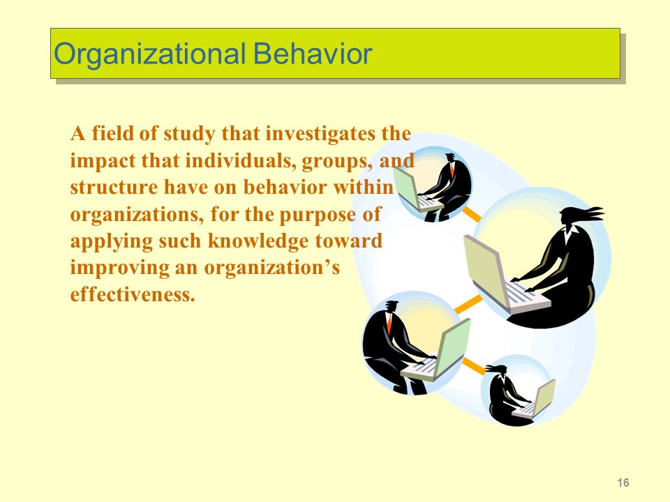 organizational behavour Organizational behavior: how to manage people from iese business school peter drucker, a pioneer in the field of management, once said that people have a perverse tendency to behave like human beings.