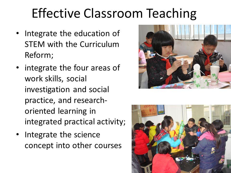 Effective Classroom Teaching