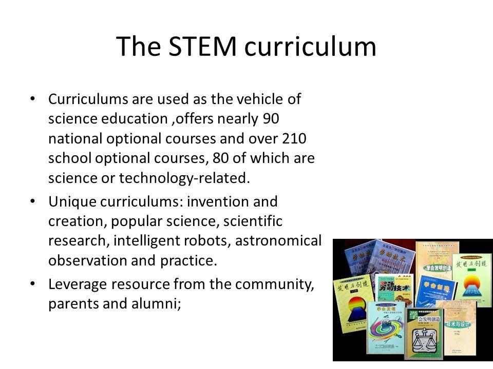 The STEM curriculum