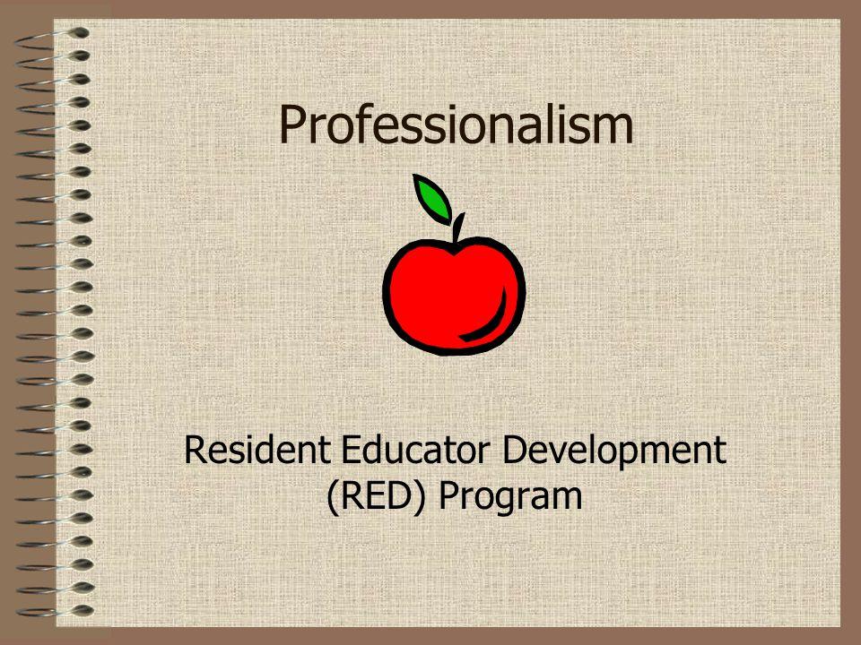 Resident Educator Development (RED) Program