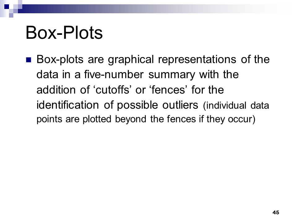 Box-Plots