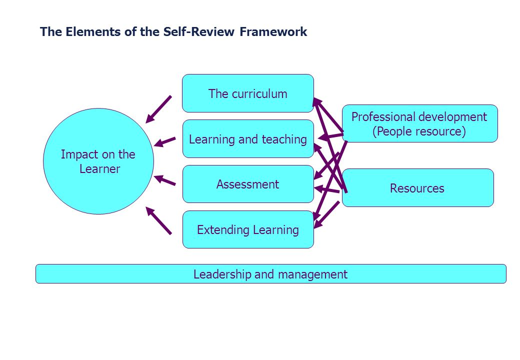 The Elements of the Self-Review Framework