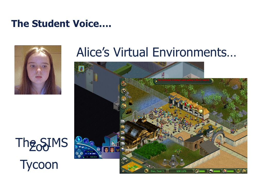 Alice's Virtual Environments…