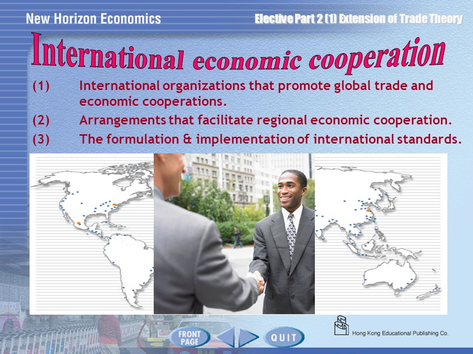 International economic cooperation