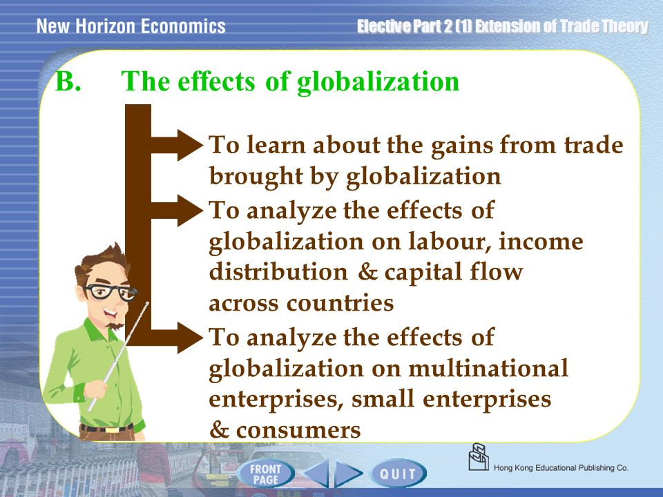 B. The effects of globalization