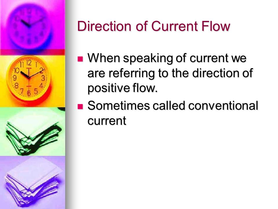 Direction of Current Flow