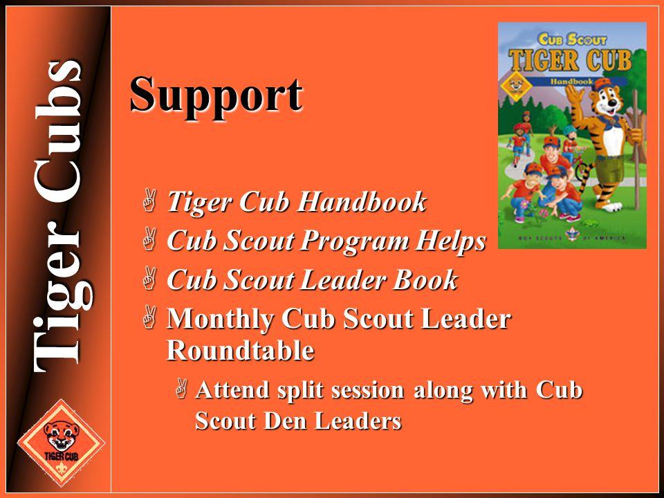 Support Tiger Cub Handbook Cub Scout Program Helps