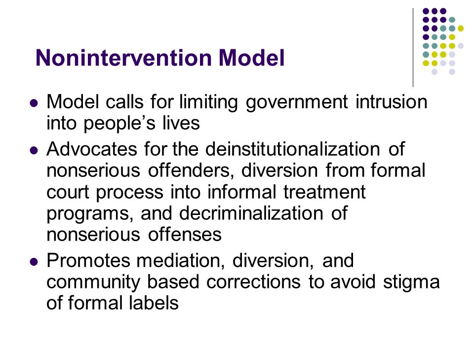 Nonintervention Model