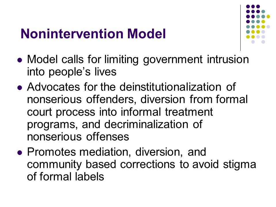 Nonintervention Model