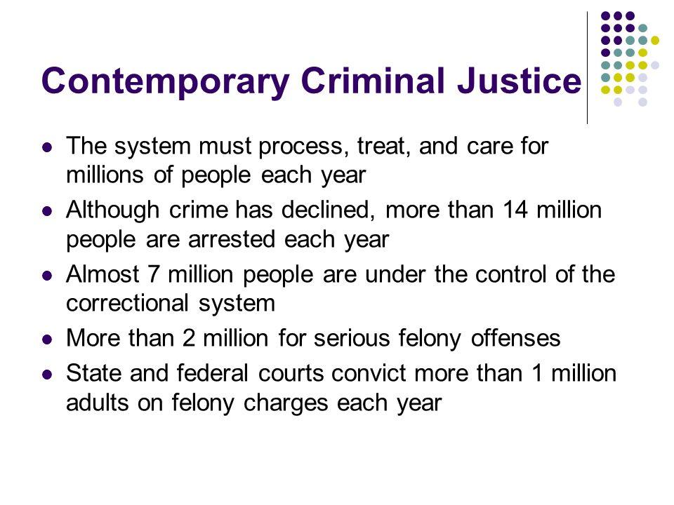Contemporary Criminal Justice