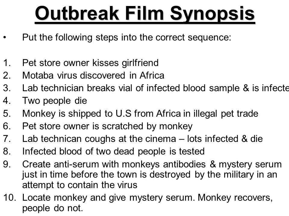 Outbreak Film Synopsis