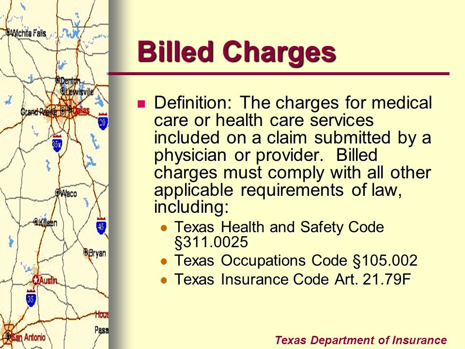 Billed Charges