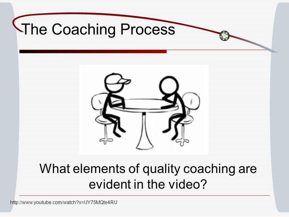 What elements of quality coaching are evident in the video