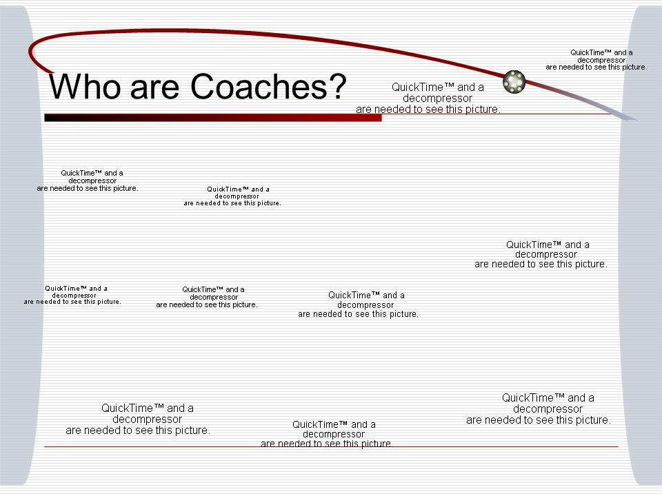 Who are Coaches
