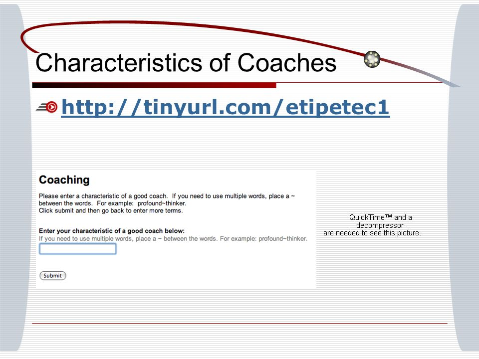 Characteristics of Coaches