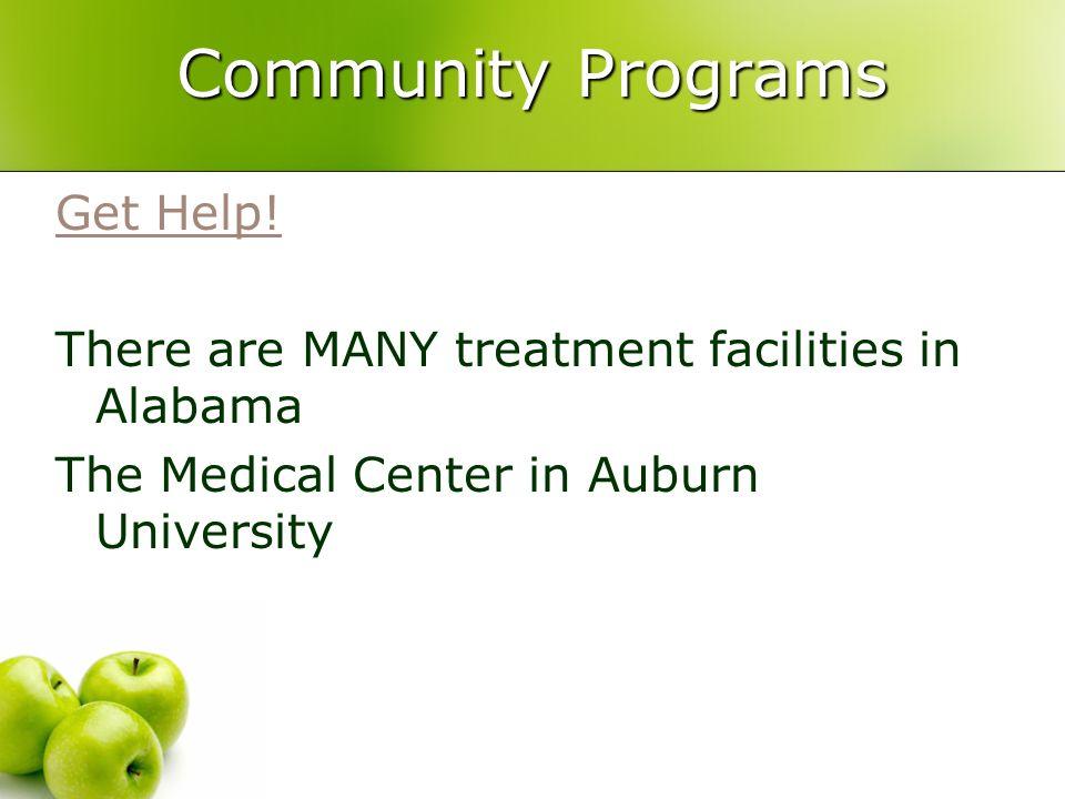 Community Programs Get Help!
