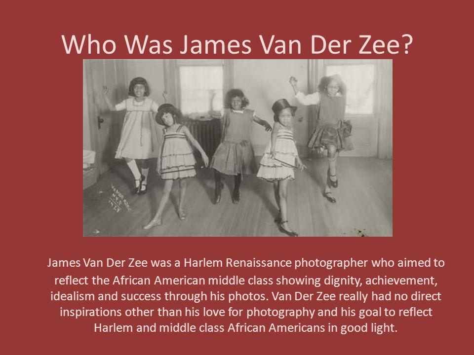 Who Was James Van Der Zee