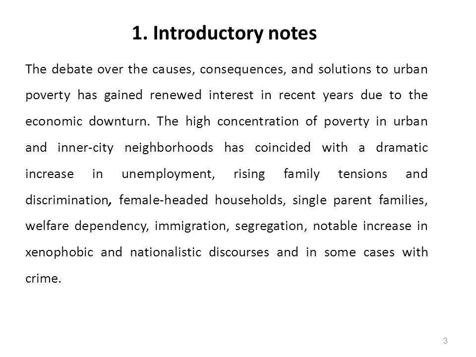 1. Introductory notes