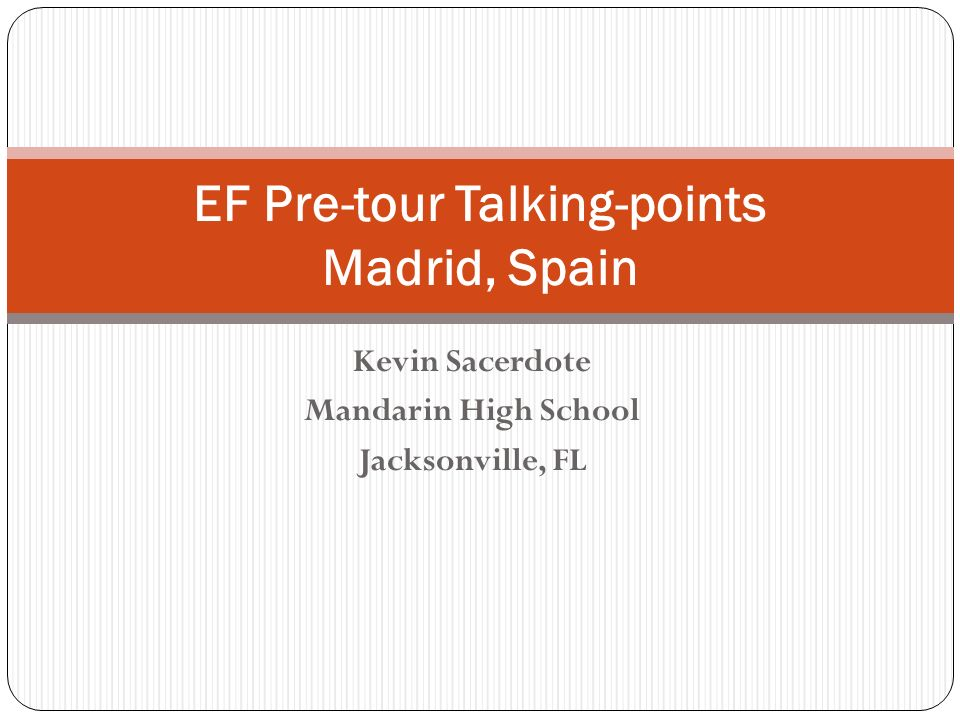 EF Pre-tour Talking-points Madrid, Spain