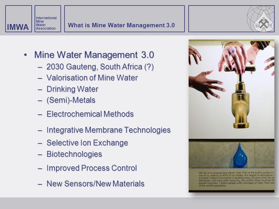 What is Mine Water Management 3.0