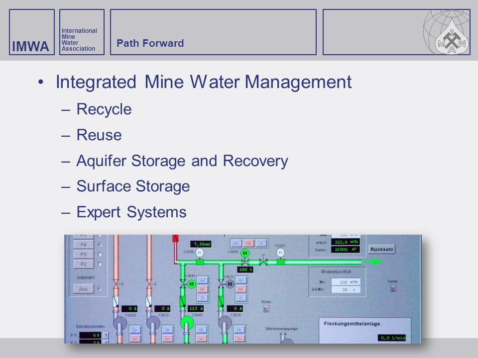Integrated Mine Water Management