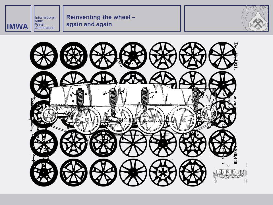 Reinventing the wheel – again and again