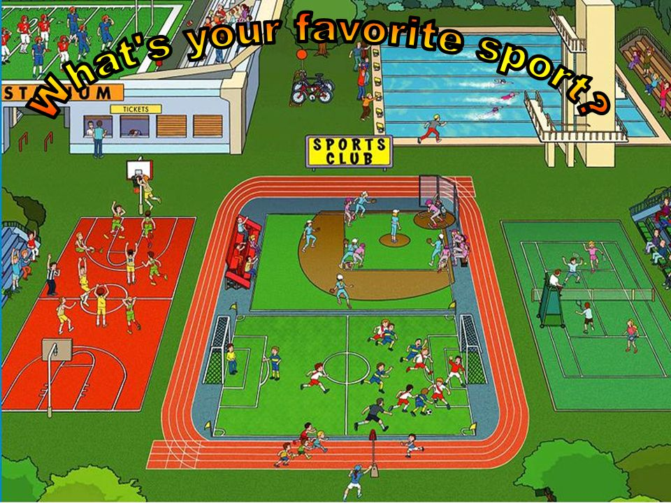 What s your favorite sport