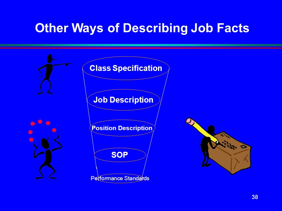 Other Ways of Describing Job Facts