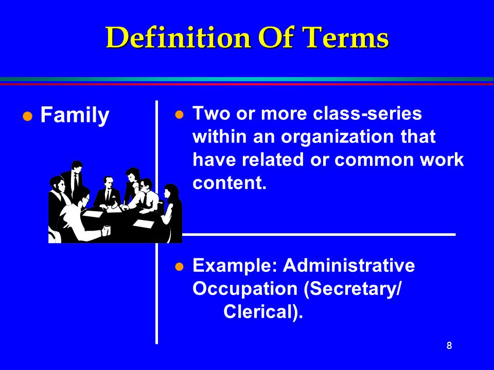 Definition Of Terms Family