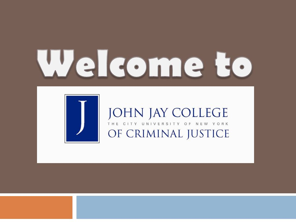 Welcome to John Jay!